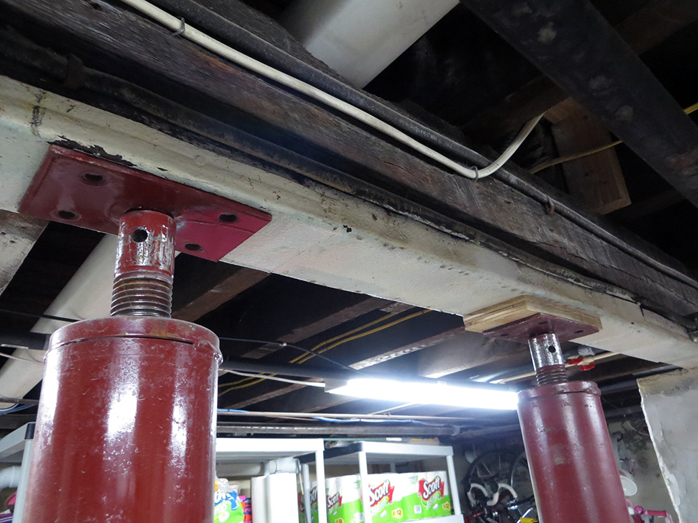 Install Steel Support Columns Gold Star General Contracting